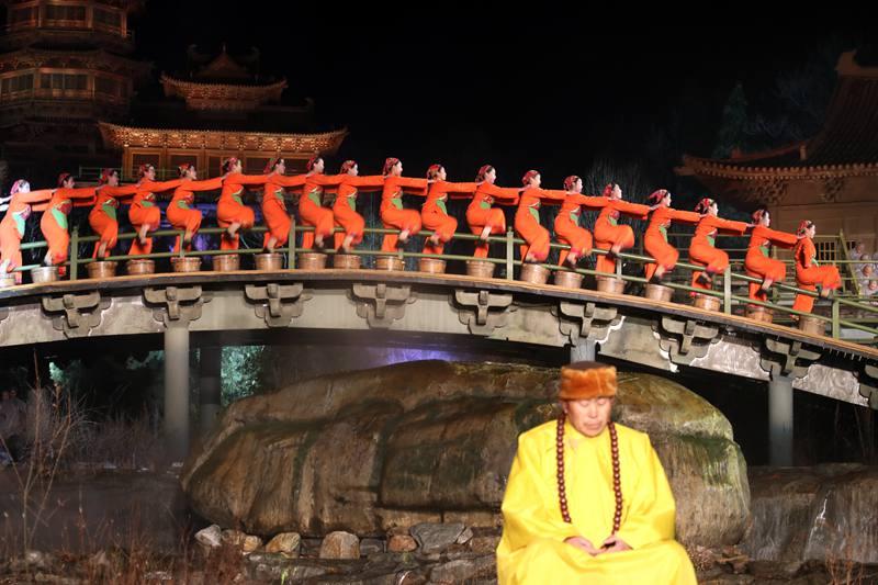 2018版《禅宗少林·音乐大典》震撼首演 刚柔并济丝丝入扣