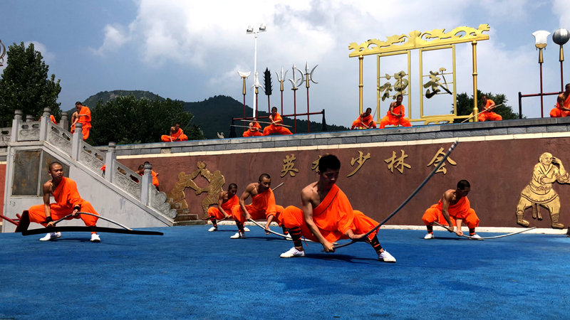 古老禅瑜伽   本周六亮相嵩山少林武林大会